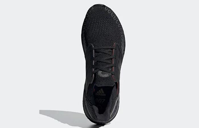 James Bond adidas Ultra Boost Black Grey FY0646 up