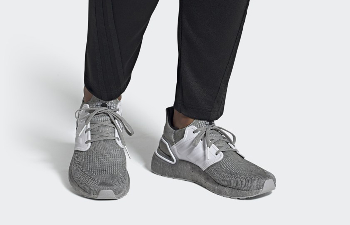 James Bond adidas Ultra Boost Low Grey FY0647 on foot 01