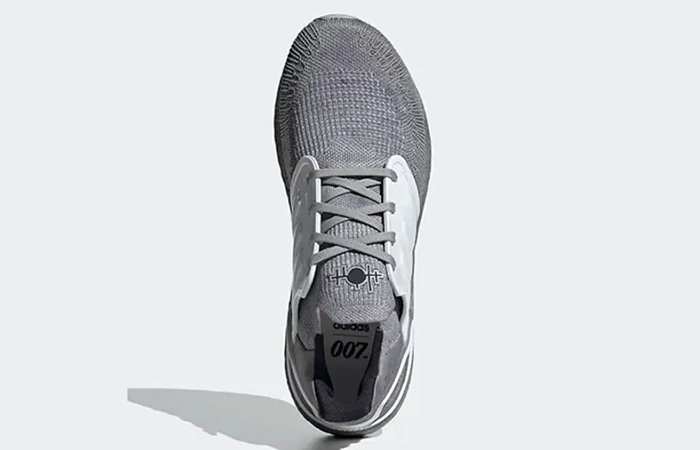 James Bond adidas Ultra Boost Low Grey FY0647 up