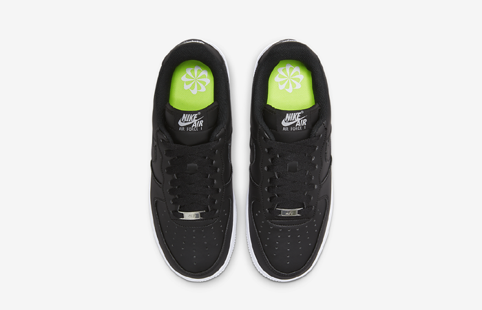 Nike Air Force 1 Next Nature Black Womens DC9486-001 up