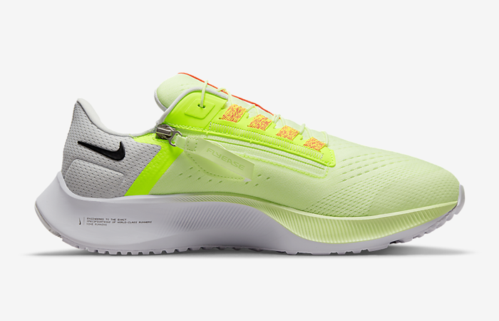 Nike Air Zoom Pegasus 38 FlyEase Barely Volt DA6678-700 right