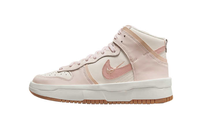 Nike Dunk High Rebel Pink Oxford Womens DH3718-102 featured image