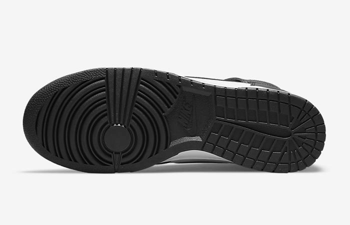 Nike Dunk High White Black DD1399-105 down