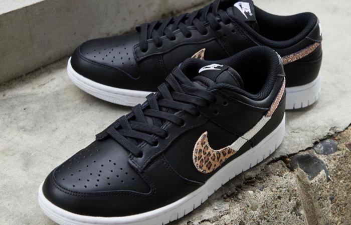 Nike Dunk Low Black Leopard Womens DD7099-001 01