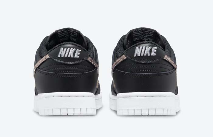 Nike Dunk Low Black Leopard Womens DD7099-001 back