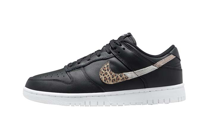 Nike Dunk Low Black Leopard Womens DD7099-001 featured image