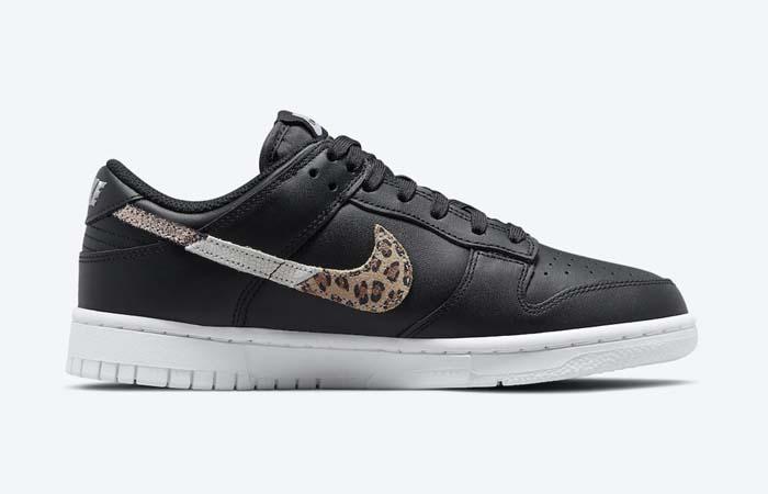 Nike Dunk Low Black Leopard Womens DD7099-001 right