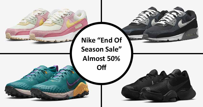 """Nike """"End Of Season Sale"""" Almost 50% Off featured image"""