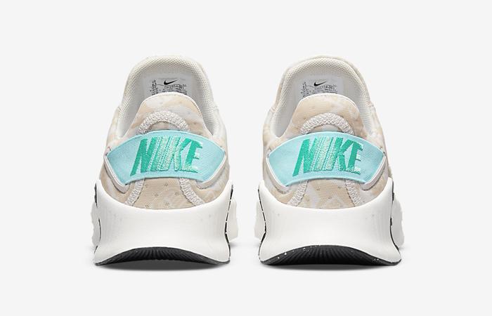 Nike Free Metcon 4 Light Bone Womens DH2554-091 back