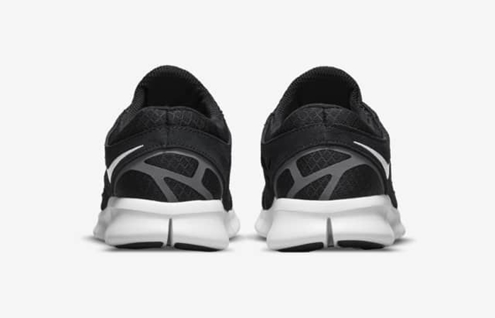 Nike Free Run 2 Black White 537732-004 back