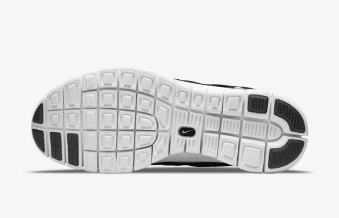 Nike Free Run 2 Black White 537732-004 down