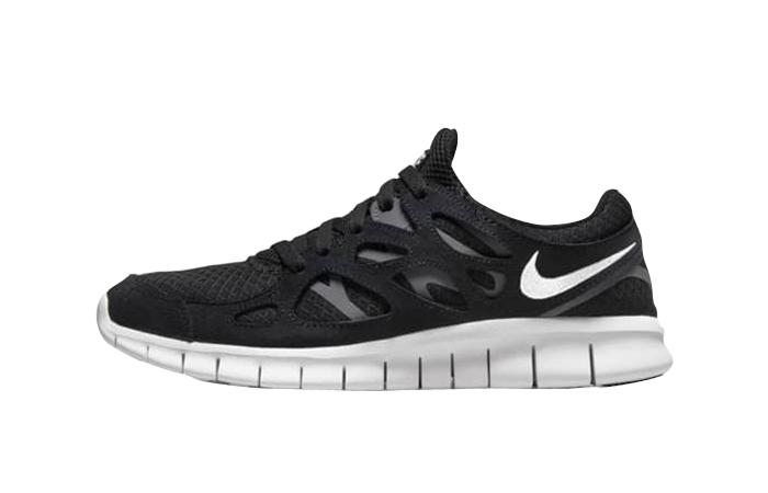 Nike Free Run 2 Black White 537732-004 featured image