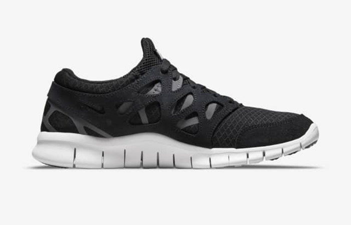 Nike Free Run 2 Black White 537732-004 right