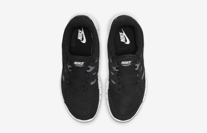 Nike Free Run 2 Black White 537732-004 up