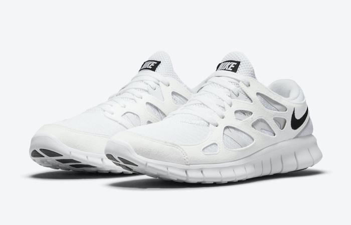 Nike Free Run 2 White DH8853-100 front corner