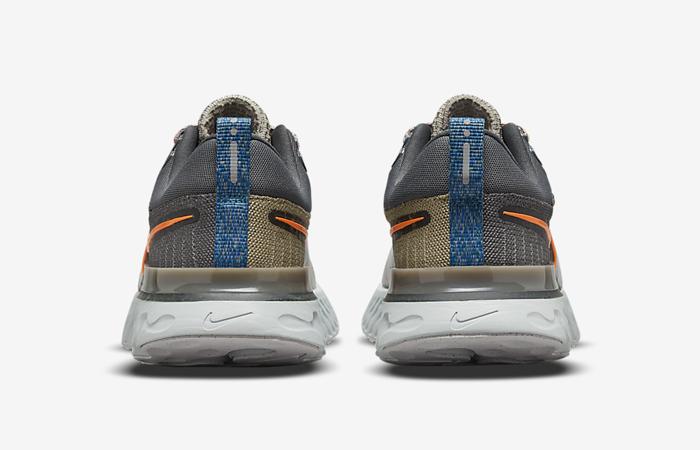 Nike React Infinity Run Flyknit 2 Light Bone DC4577-001 back