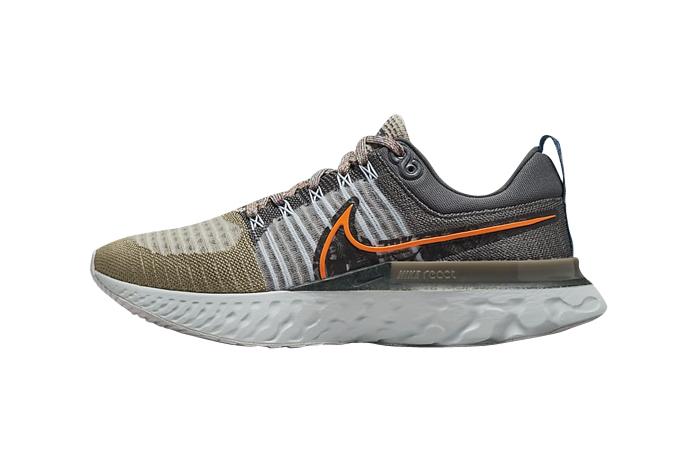 Nike React Infinity Run Flyknit 2 Light Bone DC4577-001 featured image