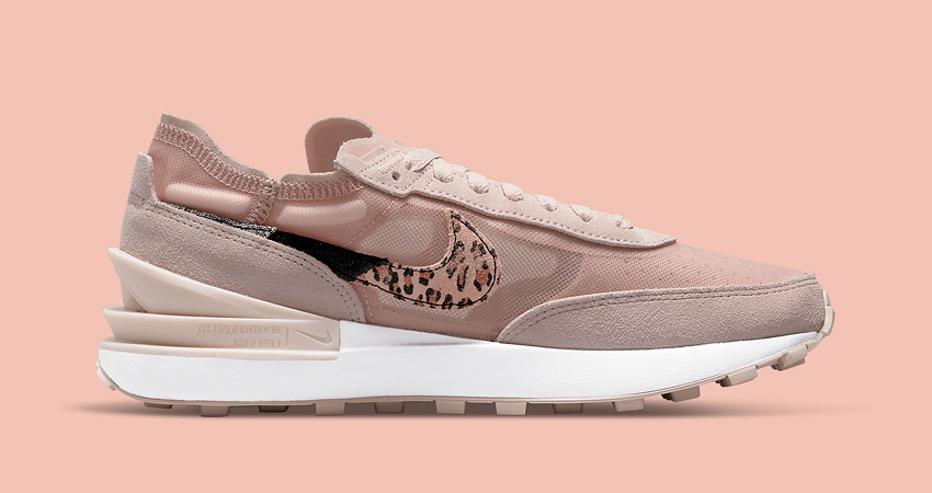 Nike Waffle One Releasing an Pink Leopard Colourway for the Ladies 02