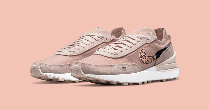 Nike Waffle One Releasing an Pink Leopard Colourway for the Ladies featured image