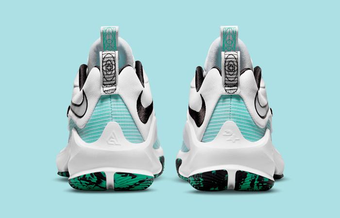 Nike Zoom Freak 3 White Blue DA0694-101 back