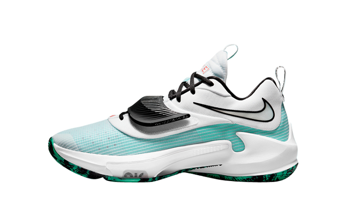 Nike Zoom Freak 3 White Blue DA0694-101 featured image