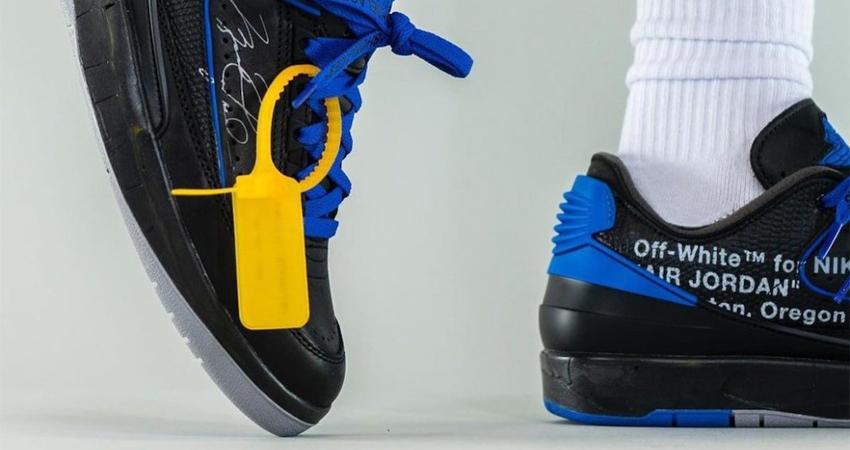 Off-White Air Jordan 2 Low Black Royal Blue Release Info 03