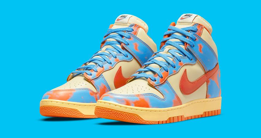 """Orange Blue Themed Nike Dunk High 1985 """"Acid Wash featured image"""