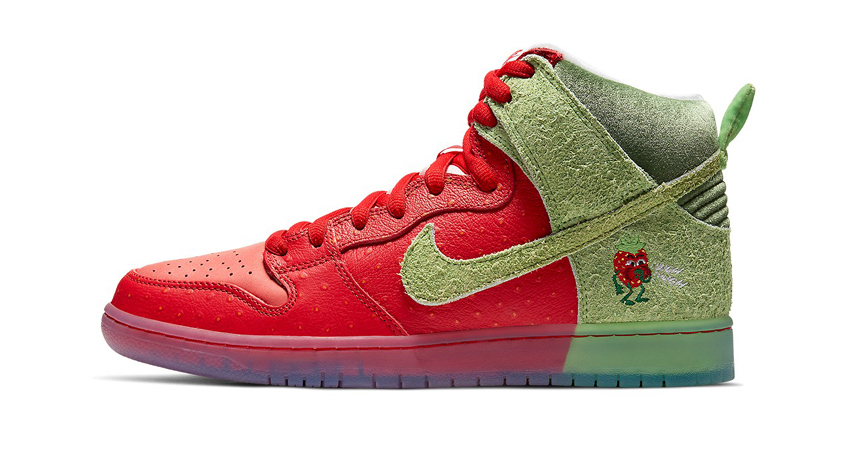 Todd Bratrud Nike Dunk High Strawberry Cough Official Look 01