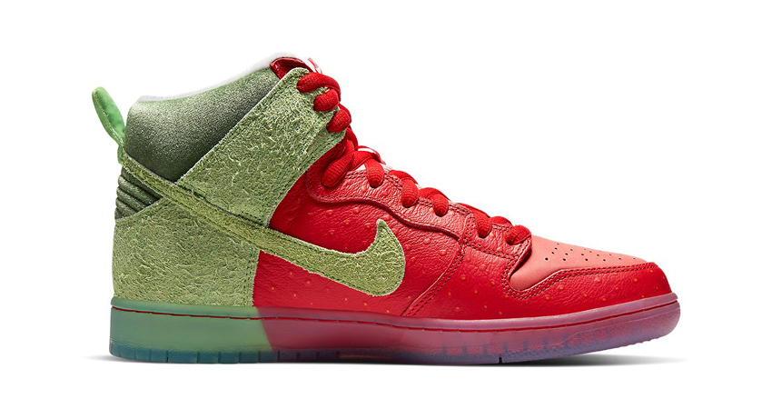 Todd Bratrud Nike Dunk High Strawberry Cough Official Look 02