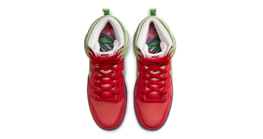 Todd Bratrud Nike Dunk High Strawberry Cough Official Look 03