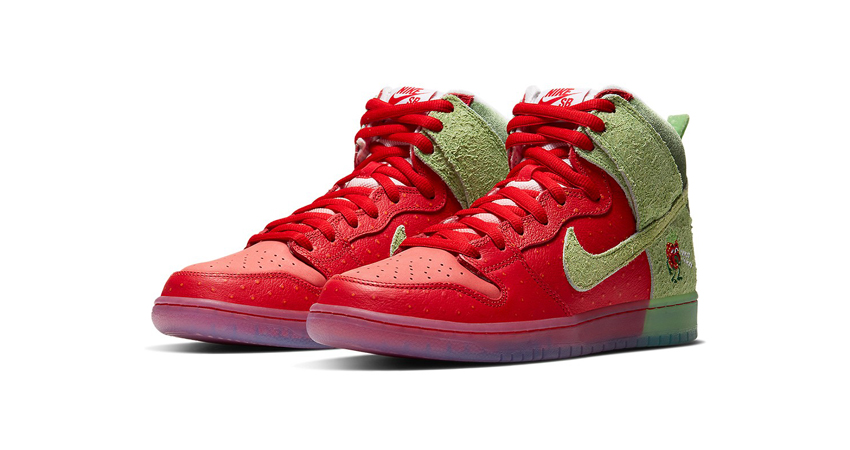 Todd Bratrud Nike Dunk High Strawberry Cough Official Look featured image