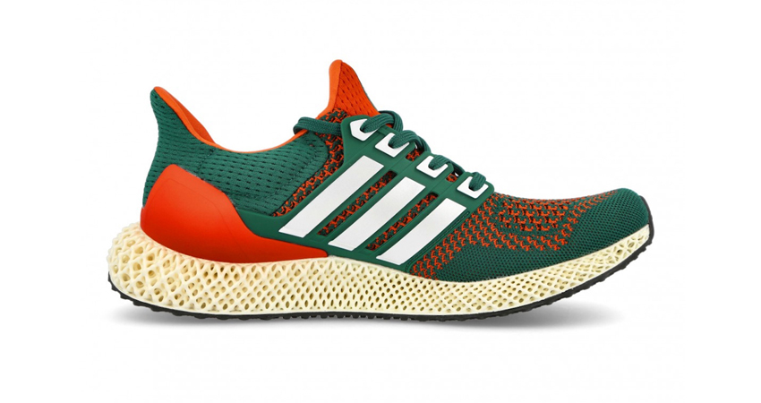 """adidas Ultra 4D Dropping in """"Miami Hurricanes"""" Theme 01"""
