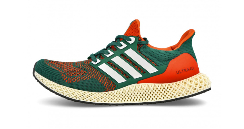 """adidas Ultra 4D Dropping in """"Miami Hurricanes"""" Theme 02"""
