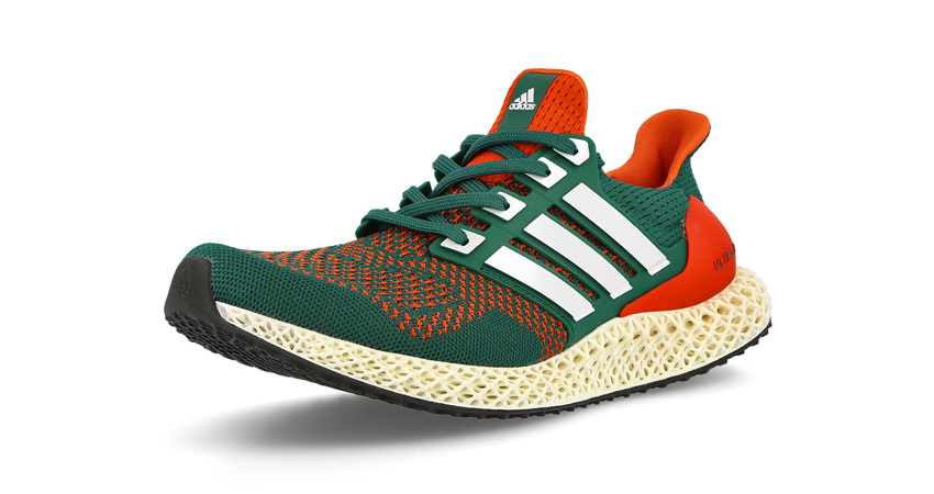 """adidas Ultra 4D Dropping in """"Miami Hurricanes"""" Theme 03"""