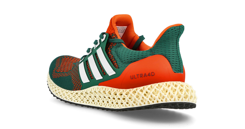 """adidas Ultra 4D Dropping in """"Miami Hurricanes"""" Theme 04"""