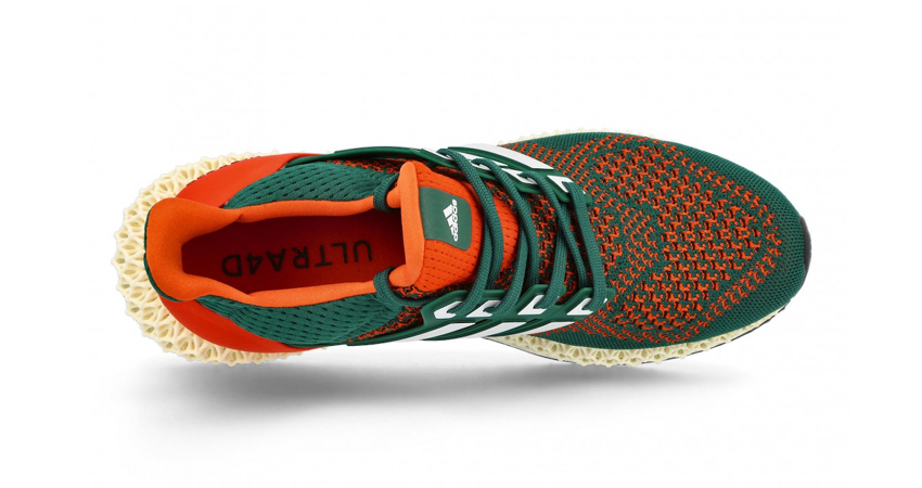 """adidas Ultra 4D Dropping in """"Miami Hurricanes"""" Theme 05"""
