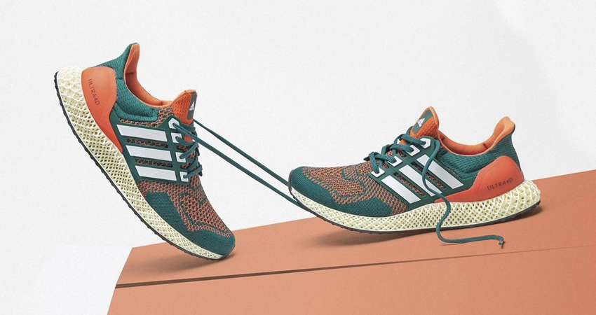"""adidas Ultra 4D Dropping in """"Miami Hurricanes"""" Theme featured image"""