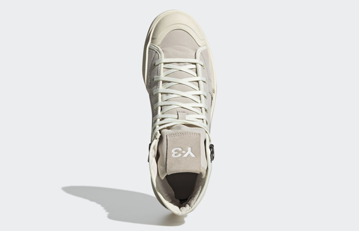 adidas Y3 Ajatu Court High Bliss Off White H05622 up