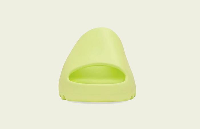 adidas Yeezy Slide Glow Green GX6138 front