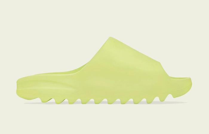 adidas Yeezy Slide Glow Green GX6138 right