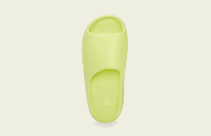 adidas Yeezy Slide Glow Green GX6138 up
