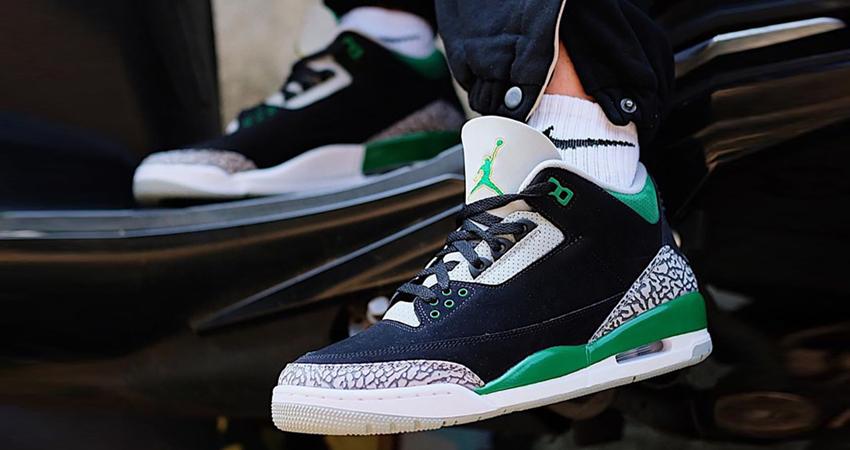 Air Jordan 3 Pine Green Release Info featured image