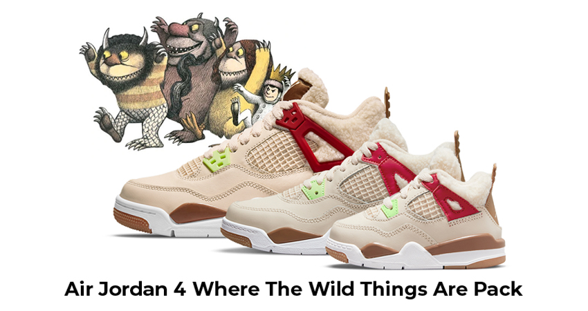 Air Jordan 4 Where The Wild Things Are Pack featured image