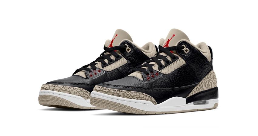 Black Cement inspired Air Jordan 3 Desert featured image