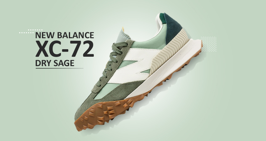 Closer Look at the New Balance XC-72 Dry Sage Norway Spruce featured image