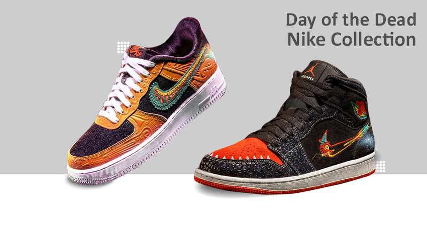 Dia de Muertos Day of the Dead Nike Collection 2021 featured image