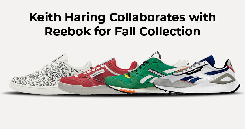 Keith Haring Collaborates with Reebok for Fall Collection featured image
