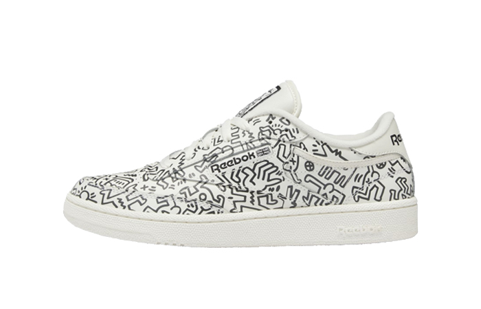 Keith Haring Reebok Club C Legacy White GZ1458 featured image