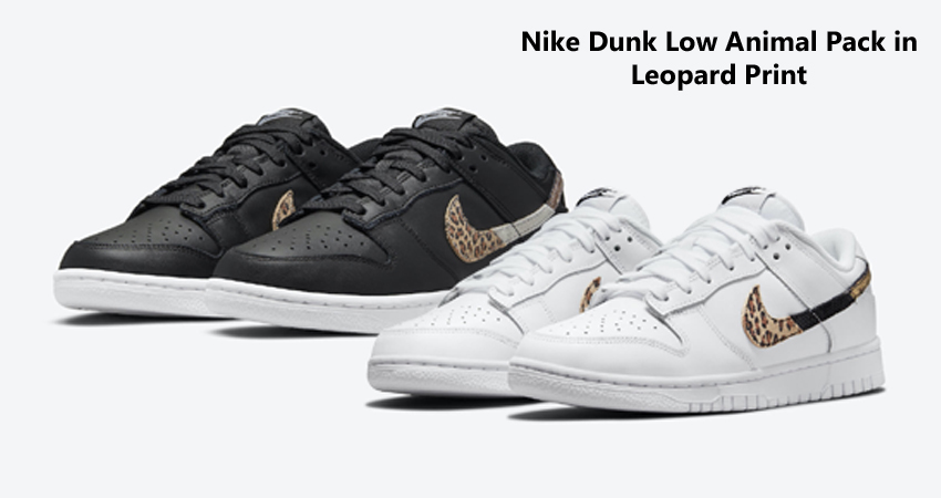 Nike Dunk Low Animal Pack in Leopard Print featured image