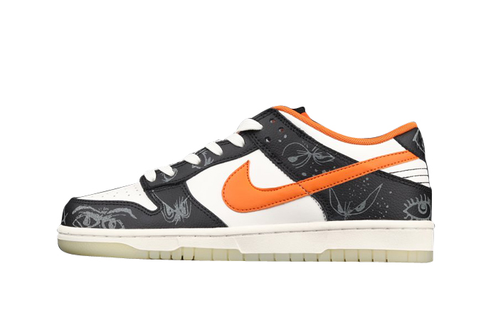 Nike Dunk Low Halloween White Vibrant Green DD3357-100 featured image